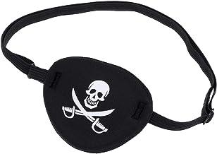 ماسک WINOMO Pirate Skull Crossbone کودکان و نوجوانان Eye Eye Patch Eye برای تنبلی چشم (سیاه)