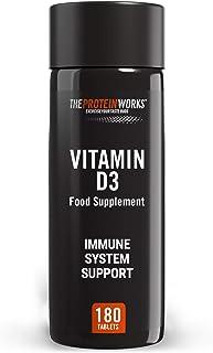 THE PROTEIN WORKS. Vitamina D3 En Comprimidos (2500 IU) | Apoya al Sistema Inmune. Fácil