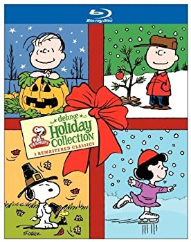 Peanuts Holiday Collection  It s the Great Pumpkin Charlie Brown / A Charlie Brown Thanksgiving / A Charlie Brown Christmas  [Blu-ray] by Warner Home Video by Various