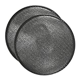 2-Pack Air Filter Factory 10-1/2 Inches X 3-1/4 Inch Rise Range Hood Aluminum Grease Dome Filters