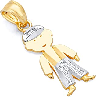 gold charms for boys