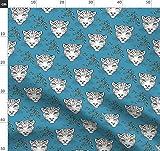Leopard, Panther, Katze, Katzen, Safari, Dschungel Stoffe -