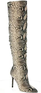 Jessica Simpson Women's Knee Boot, Neutral, 6