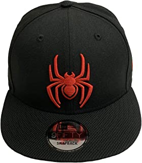 Spider-Man Diamond Tech Marvel Comics 9Fifty Snapback Cap Hat Black