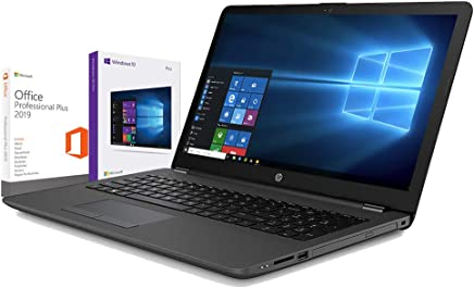 "Hp 255 G6 Notebook hp Dispaly da 15.6"" Fino A 2.00GHz,Ram 4Gb Ddr4,Hdd 500Gb,Radeon R2,Pc portatile Hp,Hdmi,DVD,CD RW,Wi Fi,Bluetooth,Windows 10 professional,Office Pro 2019 - Confronta prezzi"