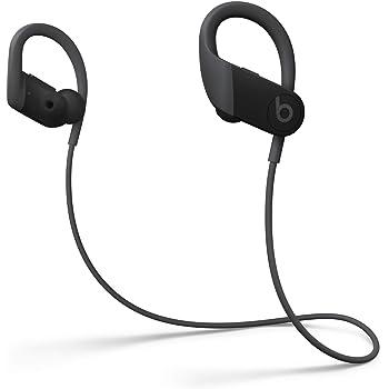 Powerbeats高性能ワイヤレスイヤフォン - Apple H1ヘッドフォンチップ、Class 1 Bluetooth、最長15時間の再生時間、耐汗仕様のイヤーバッド - ブラック