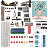 SunFounder Raspberry Pi 4 Model B Starter Kit Project Super Kit for RPi 4B 3B+ 3B 2B B+ A+ Zero…