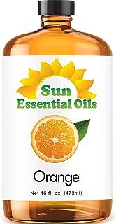 Sweet Orange Essential Oil (Huge 16oz Bottle) Bulk Sweet Orange Oil - 16 Ounce