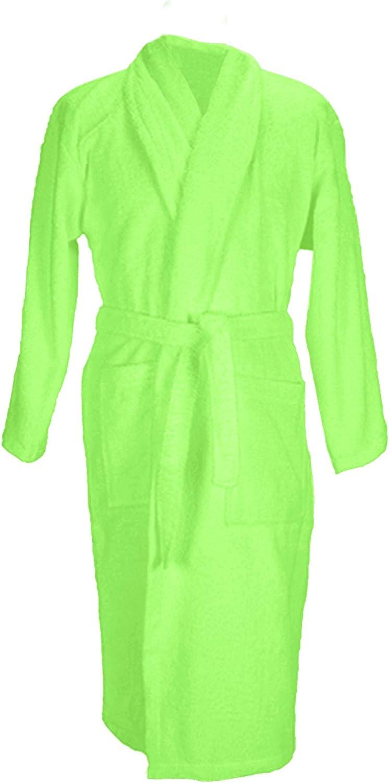 A&R Towels Adults Unisex Bath Robe with Shawl Collar