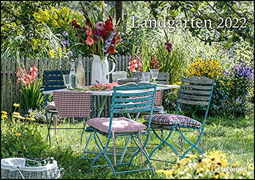 Landgärten 2022 - Foto-Kalender - Wand-Kalender - 42x29,7 - Garten-Kalender: Wandkalender A3