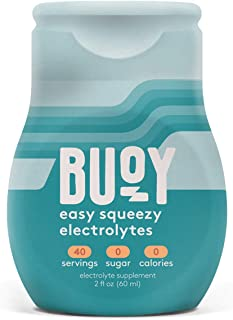 Buoy | All Natural Electrolytes | Keto, Immunity, Exercise | 40 Servings | No Sugar, No Calories | Easy Squeezy Drops | Ma...