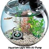 Kuty LED Acuario, Aireador Acuario, iluminación Acuario, Luz LED...