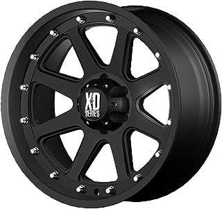 XD Series by KMC Wheels XD798 Addict Matte Black Wheel (17x9