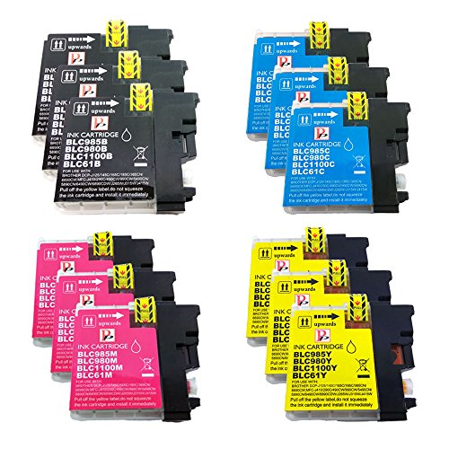 PerfectPrint - 12 Compatible Brother LC-985 / LC985 Ink Cartridges
