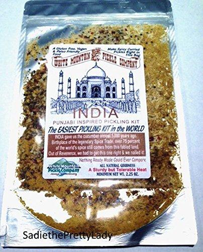 White Mountain Pickle Co. India Punjabi Inspired Pickling Kit - Make it in Bag