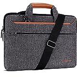 DOMISO 14 Zoll Laptop Tasche Hülle Notebooktasche Wasserdicht Aktentasche Tragetasche Schultertasche für 14