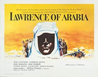 Berkin Arts Movie Poster Giclee Print On Canvas-Film Poster Reproduction Wall Decor(Lawrence of Arabia 3) #XFB