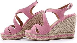 Women's Wedge Sandals,Pink,35