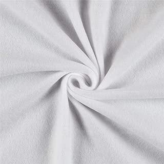 Newcastle Fabrics Polar Fleece Solid White Fabric By The Yard