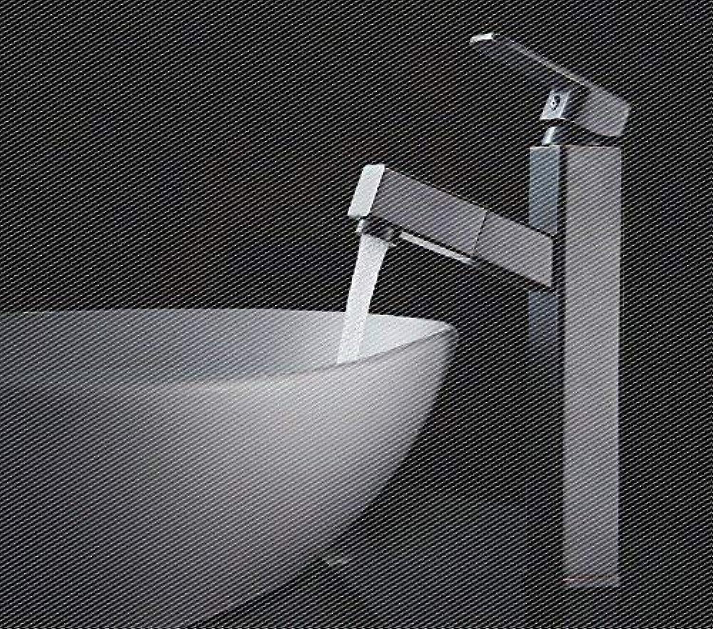 Ywqwdae Waschtischarmaturen Amerikanischer Retro-Stil Kupfer Herausziehen  Gebürstet Waschen Sie Ihr Gesicht