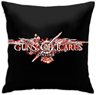 13yishi Guns of Icarus Online Pillowcase Zippered Throw Pillow Cover Soft Cotton Comfortable Picture Printed Custom Standard Size