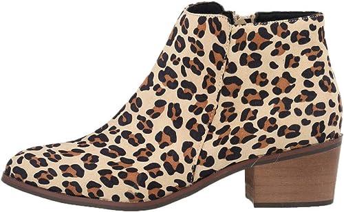 ZHRUI Stiefel de tacón Alto de Cuero para damen Stiefel Retro Casuales (Farbe   7, tamaño   41EU)