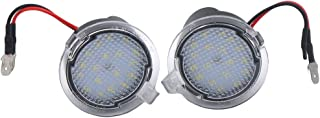 2pcs 18LED Under Side View Mirror Puddle Lights for Ford Edge Fusion Flex Explorer Expedition Mondeo Taurus F-150