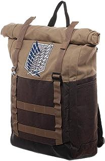 حقيبة ظهر للكمبيوتر المحمول بتصميم Attack on Titan