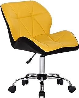 Silla Escritorio Sillas de escritorio con ruedas Silla de escritorio para computadora de oficina Oficina en casa Respaldo ergonómico con respaldo alto Asiento ejecutivo para mujeres, hombres Ergonóm