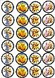 24 Muffin   Cupcake Aufleger Fondant Winnie Pooh C
