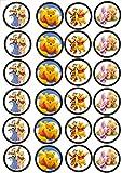 24 Muffin & Cupcake Aufleger Fondant Winnie Pooh C1
