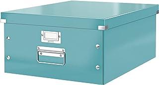Leitz Caja de almacenamiento grande A3, Turquesa, Click and Store, 60450051