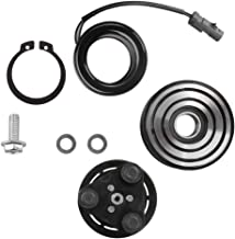 10S17E AC Compressor Clutch Assy for Dodge Ram 2500 3500 4500 5500 2006-2009 Air Conditioning Repair Kit Plate 6 Groove Pulley Bearing Coil