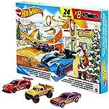 Motgal Hot Wheels 2021Calendario de Adviento de Navidad (GTD78)