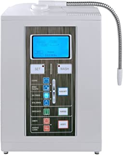 Aqua Ionizer Deluxe 7.0 | Water Ionizer | Alkaline Water Filtration System | Produces pH 4.5-11.0 Alkaline Water | Up to -800mV ORP | 4000 Liters Per Filter | 7 Water Settings