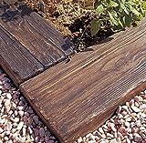 コンクリート製枕木 リアルウッドランバー【床材】LY-100(1000*200*60)