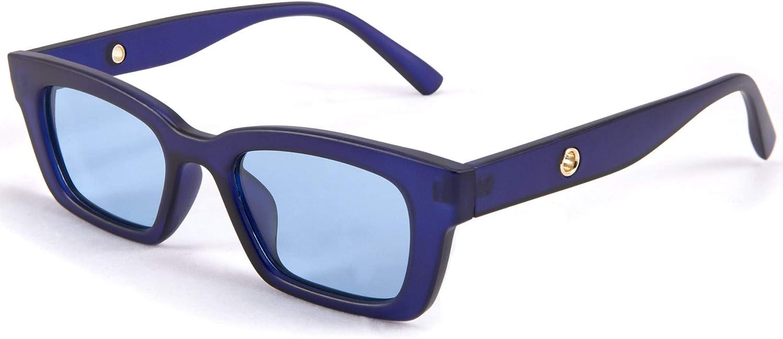 FEISEDY Retro Rectangular Polarized Max 85% OFF Sunglasses 90's Discount mail order Vintage Fram