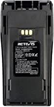 Retevis BL3688 2 Way Radio Battery 1800mAh Rechargeable Li-ion Replacement Battery for Motorola CP200 CP040 CP140 CP150 GP3188 Walkie Talkies(1 Pack)