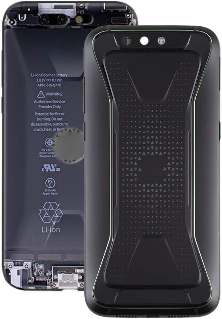 Fulvit Battery Back Cover for trust Dallas Mall Shark Xiaomi Color Black