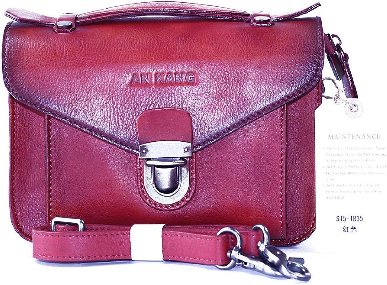 0522cdf78fd69 AN KANG LEATHER Handtaschenart Und Weiseileiterbeutel Der Wilden Wilden  Wilden Tasche Weiblicher Neuer Tendenz 2018 Kurierbeutel B07H8946G1 Hohe  Qualität ...