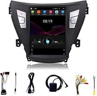 Car Stereo Audio Receiver Support 1080p with 9.7 Inches with Bluetooth Fm Hands-free Call Suitable for 11-13 Modern Elantr...