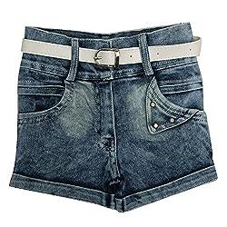 Zadmus Girls Denim Hotpant (2-11 Years)