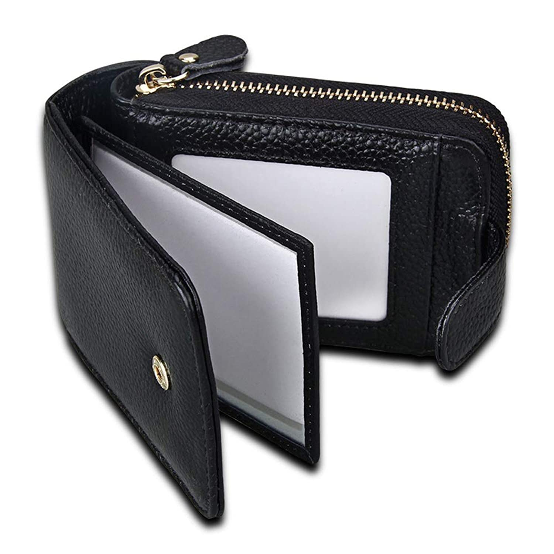 多機能 クレジットカードケース ホルダースロット スキミング防止 カードケース スライド式 財布 RFID 名刺入れ スリム カードホルダー 薄型 小銭入れ ユニセックス ジッパー付き