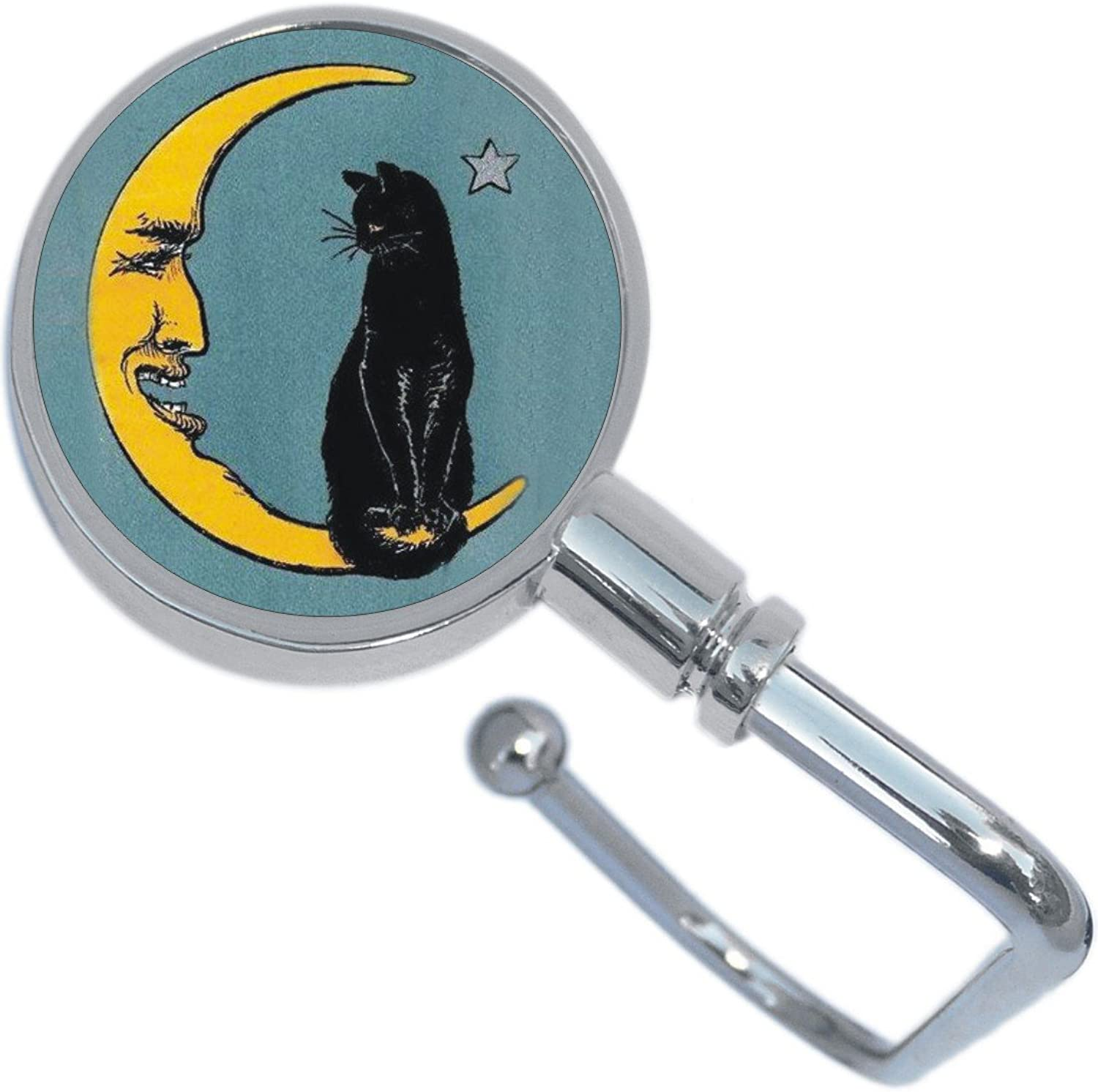 Cat and Moon Purse Hanger