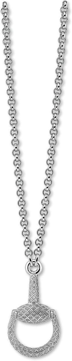 Gucci - 55cm Horsebit Light Necklace