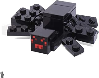 LEGO Minecraft MiniFigure - Black Spider Animal (From Set 21118)