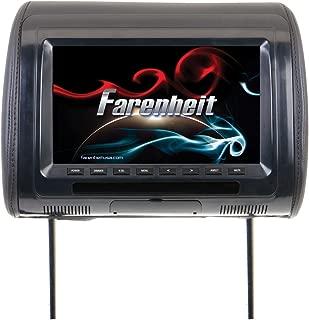 Farenheit HR-91CC Universal Replacement Headrest Preloaded w/ 9