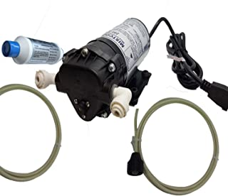 mistcooling 160 PSI Booster Pump   Mid Pressure Misting Pump   Can be Used for Fan Misting System and Line Based Misting Systems (110V AC)
