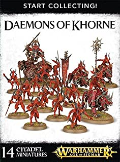 Start Collecting Daemons of Khorne Warhammer Age of Sigmar