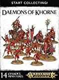 GAMES WORKSHOP 99129915027 Start Collecting Daemons of Khorne Tabletop and Miniature Gaming